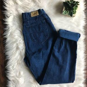 Vintage Lee Blue Mom Jeans (Tall)
